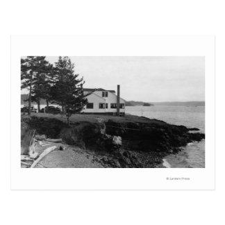 Isla Caf� de la esperanza de Fahlen en las islas Postal