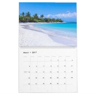 Isla Culebra calendario de 12 meses