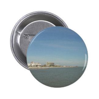 Isla de Galveston, Tejas Chapa Redonda De 5 Cm