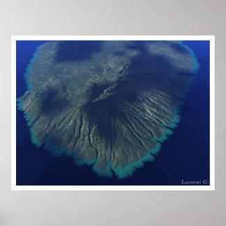 Isla de Hawai Póster