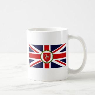 Isla de la bandera del asistente del gobernador taza de café