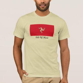 Isla de la camiseta del hombre
