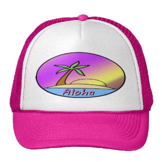 Isla de la hawaiana gorras