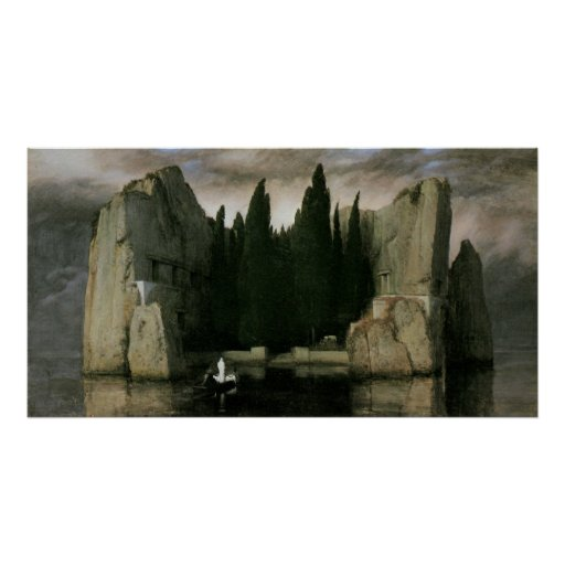 Isla de los muertos, tercera versión de Arnold Impresiones