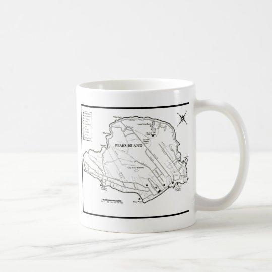 Isla de los picos taza de café