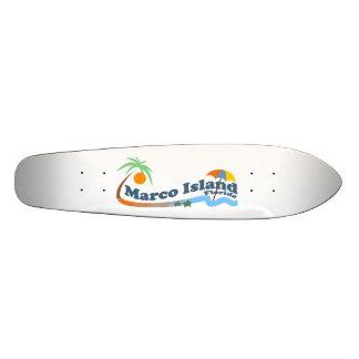 Isla de Marco Monopatín Personalizado