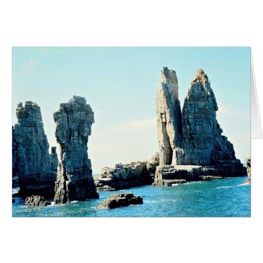 Isla de Paengnyongdo, Yellow Sea Tarjeta De Felicitación