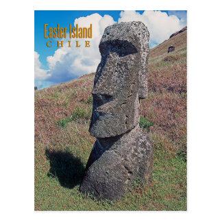 Isla de pascua (Rapa Nui) Chile Tarjeta Postal