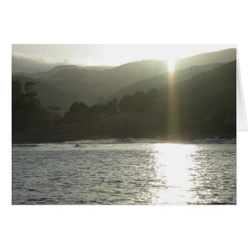 Isla de Santa Cruz, ensenada de los contrabandista Tarjeta