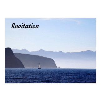 Isla de Santa Cruz Invitación 12,7 X 17,8 Cm