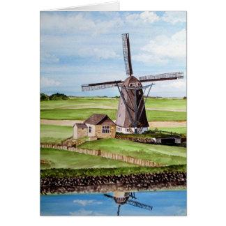 Isla de Texel, Holanda Tarjeta