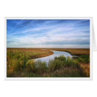 Isla del Egret, Matagorda, TX Tarjeta De Felicitación