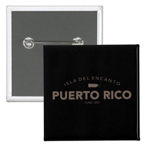 Isla del Encanto, Puerto Rico Pins