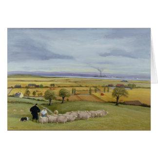 Isla del granjero de las ovejas de Sheppey Tarjeta
