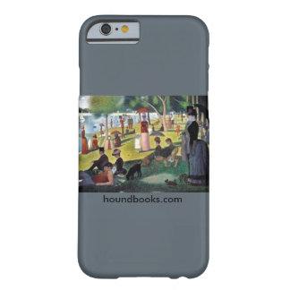 Isla del La grande Jatte con el sabueso de Wimsey Funda Para iPhone 6 Barely There