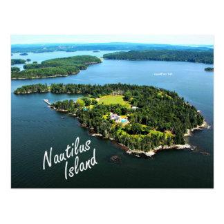 """Isla del nautilus: """"Yo mismo…"""" Postal de Lowell"""