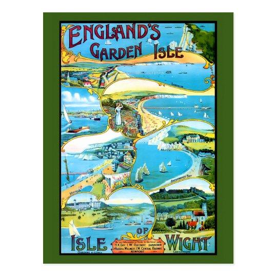 Isla del poster del viaje del Wight Postal