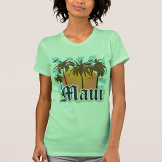 Isla del recuerdo de Maui Hawaii Camiseta