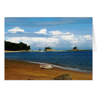 Isla Espiritu Santo, las Perlas, Panamá de Islas Tarjeta De Felicitación