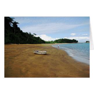 Isla Espiritu Santo las Perlas Panamá de Islas Felicitaciones