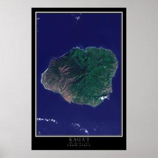 Psters Mapa Por Satlite  Lminas e impresiones  Zazzlees