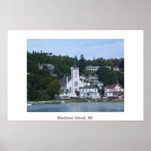 Isla MI de Mackinac Impresiones