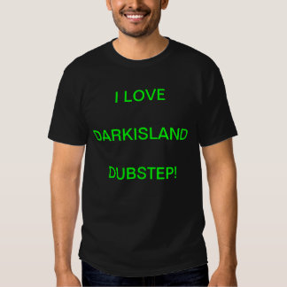 Isla oscura Dubstep Camiseta