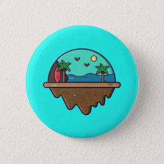 Isla Serie - botón de la isla de la playa