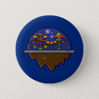Isla Serie - botón de la isla del carnaval