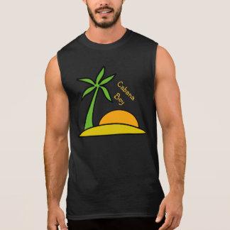 Isla tropical abandonada camiseta sin mangas