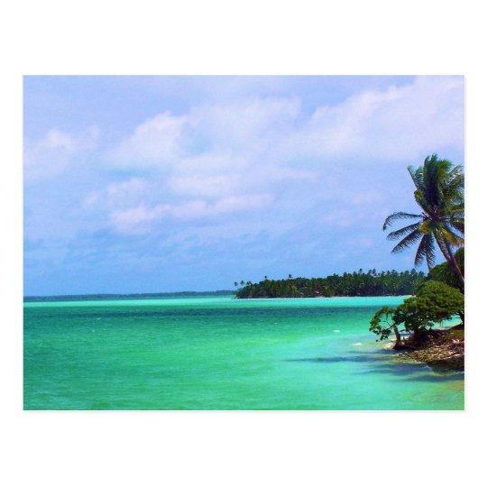 Isla tropical postal