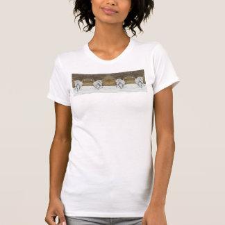 Islandés del unicornio camisetas