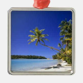 Islas de cocinero alineadas palma de la playa ornamentos para reyes magos