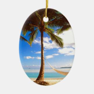 Islas de cocinero de Aitutaki de la playa Ornamentos Para Reyes Magos