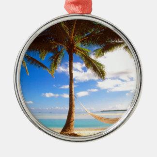 Islas de cocinero de Aitutaki de la playa Ornamentos De Reyes