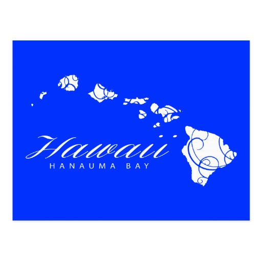 Islas de Hawaii de la hawaiana Tarjetas Postales