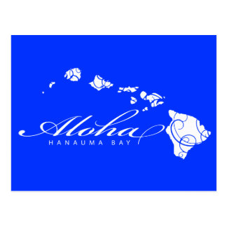 Islas de Hawaii de la hawaiana Tarjeta Postal