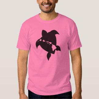 Islas de Hawaii y tortuga de Hawaii Camiseta