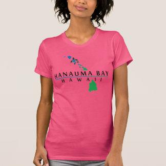 Islas de Hawaii y tortuga de Oahu Camisetas