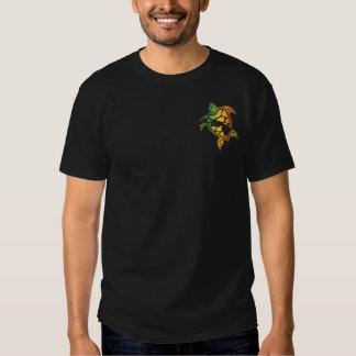 Islas de Hawaii y tortuga del reggae Camisetas