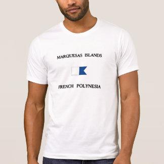 Islas de Marquesas Polinesia francesa Camisetas