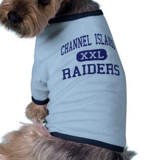 Islas del Canal - asaltantes entrenados para la lu Camiseta De Perro