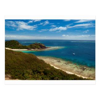 islas Fiji del yasawa Postales