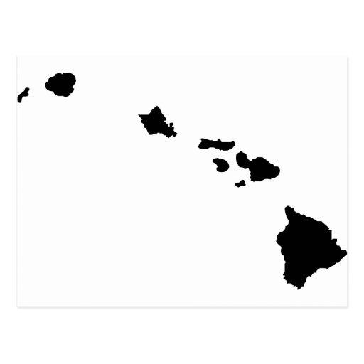 Islas hawaianas postales