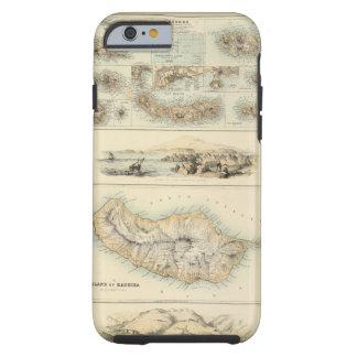 Islas portuguesas en el Océano Atlántico Funda Resistente iPhone 6