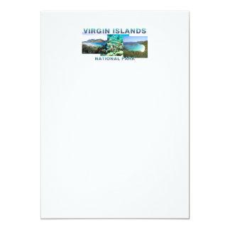 Islas Vírgenes de ABH Invitación 12,7 X 17,8 Cm