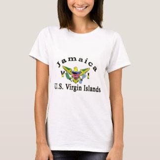 Islas Vírgenes de Jamaica/los E.E.U.U. Camiseta