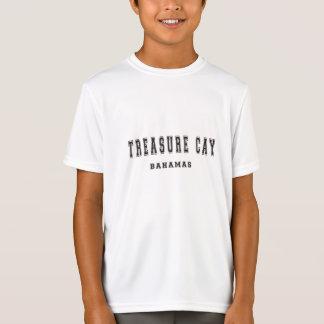 Isleta Bahamas del tesoro Camiseta