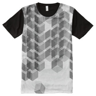 ISO-Series-B/W Camisetas Con Estampado Integral