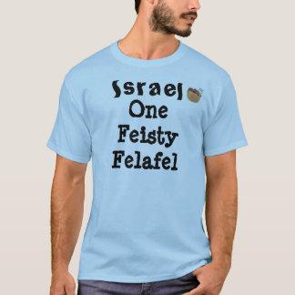 Israel el falafel decidido camiseta